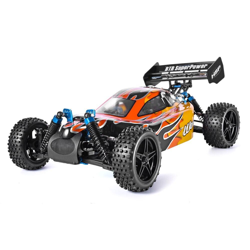 HSP RC Auto 1:10 4wd Rc Giocattoli A Due Velocità Off Road Buggy Da Corsa Del Veicolo Nitro Gas di Potenza 4x4 ad alta Velocità Hobby Telecomando Auto