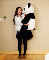 Прекрасный большой панда Игрушки мягкие Panda огромный плюшевый панда подарок на день рождения около 125 см