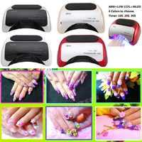 48 w LED lampe UV pour vernis à ongles Gel séchage rapide durcissement des outils à ongles avec capteur à main automatique EU AU US UK plug 12 W CCFL + 36 W LED