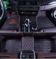 Top quality 3d esteira do assoalho do carro para mitsubishi outlander pé mat pé carro pad 4 cores motorista mão Esquerda gota grátis