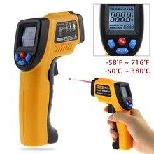 GM320 Non contact Digital Infrared Thermometer Gun IR Laser Temperature Gun Pyrometer Diagnostic tool TesterRange 50
