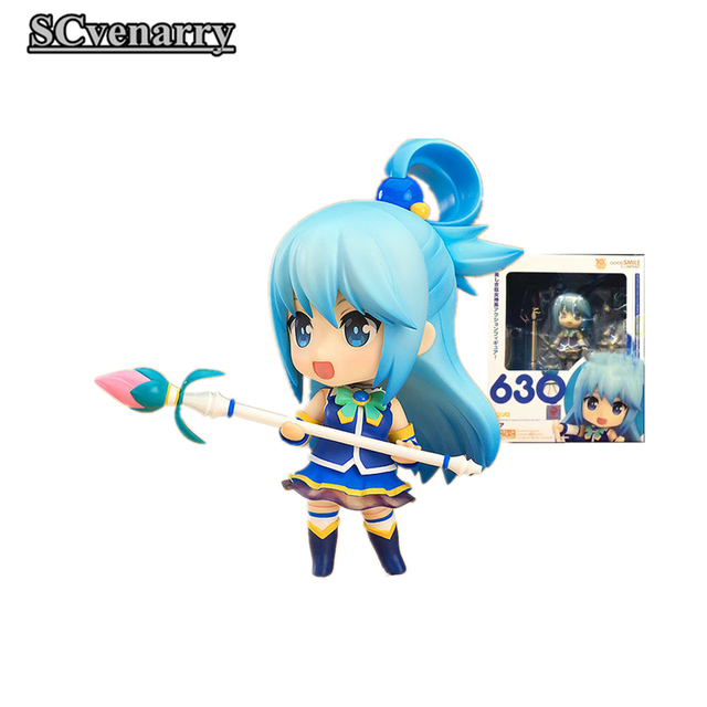 KonoSuba: God's Blessing on this Wonderful world! Aqua Q ver. 630#  Nendoroid Action Figure Collectible Model Toy 10cm