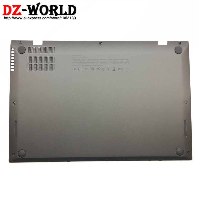 New Original for Lenovo ThinkPad X1 Carbon Gen 2 2nd 20A7 20A8 Gen 3 3rd 20BS 20BT Back Shell Bottom Case Base Cover 00HN987 new original lenovo thinkpad x1 carbon 2014 gen 2nd 20a7 20a8 laptop keyboard palmrest bezel cover