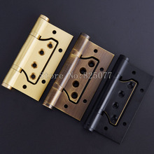 Free Shipping Stainless Steel Hinges Bearing 4 Inch 3.0 Thick Mute Hinge Door Hinge JF1266 4 x4 x3mm stainless steel gold mute door hinges heavy duty hinges new