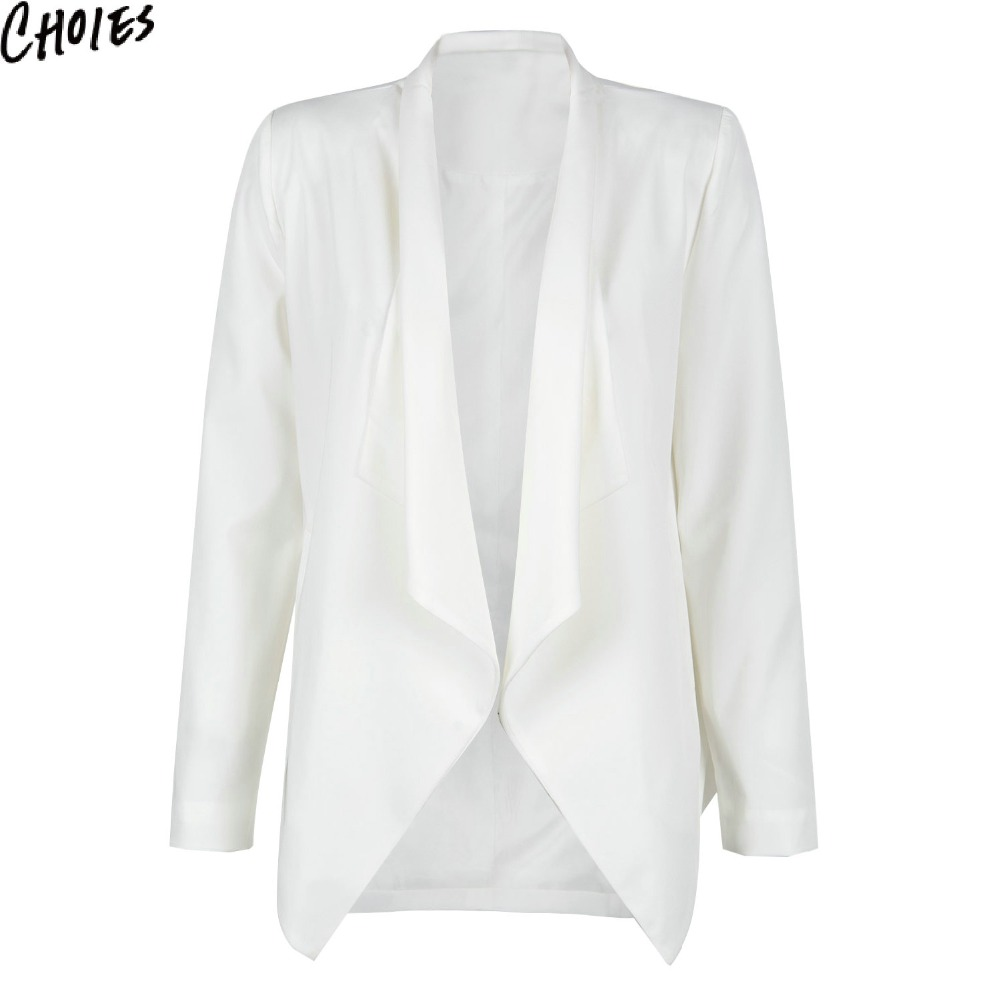 Online Buy Wholesale womens cream blazer from China womens cream ...
