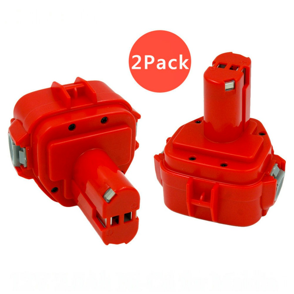 2PCS 12V 2000mah nicd cordless drills Replacement rechargeable battery for Makita 6227D 6317D 1220 1222 1233 1234 1235 bateria2PCS 12V 2000mah nicd cordless drills Replacement rechargeable battery for Makita 6227D 6317D 1220 1222 1233 1234 1235 bateria