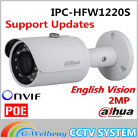 Dahua IPC HFW1220S IR HD 1080p IP Camera Security Outdoor 2MP Network IR Bullet Mini Camera