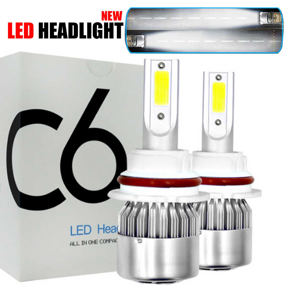 Auto Bulbs LED H7 H4 H11 H1 H3 H13 880 9004 9005 9006 9007 9003 HB1 HB2 HB3 HB4 H27 LED Car Headlights