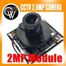 1000TVL AHD Camera Module 1080P 2.0MP CCTV PCB Main Board V20E+OV9732 (FH8532E) 1080P 3.6mm lens+IR Cut