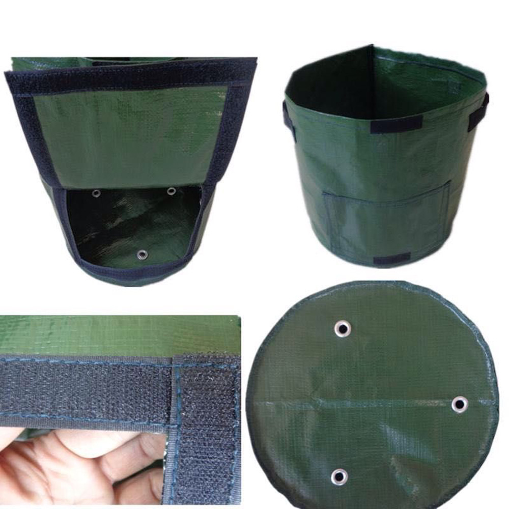 HTB1mdSNaPvuK1Rjy0Faq6x2aVXaC - DIY Potato Grow Planter PE Cloth Planting Container Bag