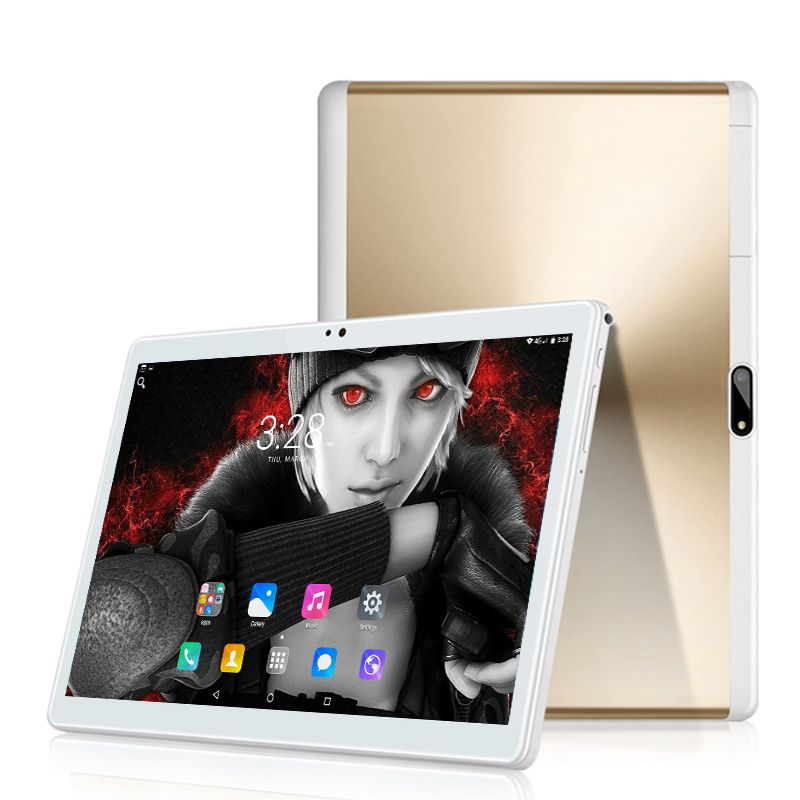 Free Shipping 10 Inch 4G LET Tablet PC Android 8.0 Octa Core 6GB+64GB 1280*800 IPS 2.5D Tempered Glass Smart Tablets PCS 10 10.1