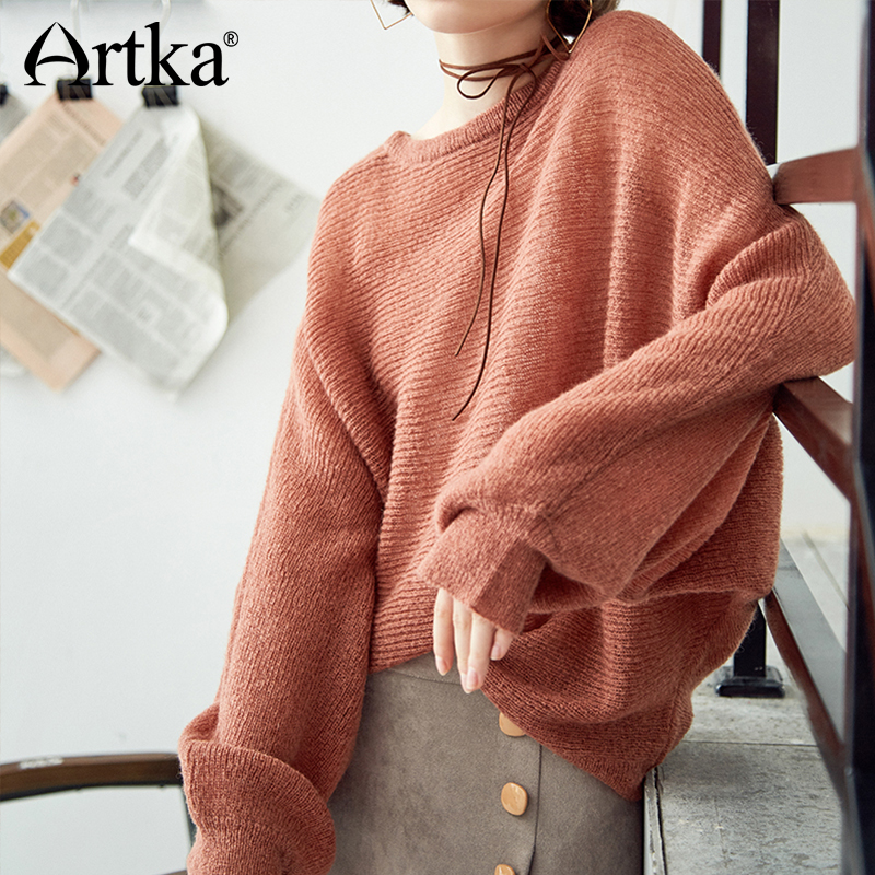 Artka Batwing Sleeve All-match Sweater YB11182