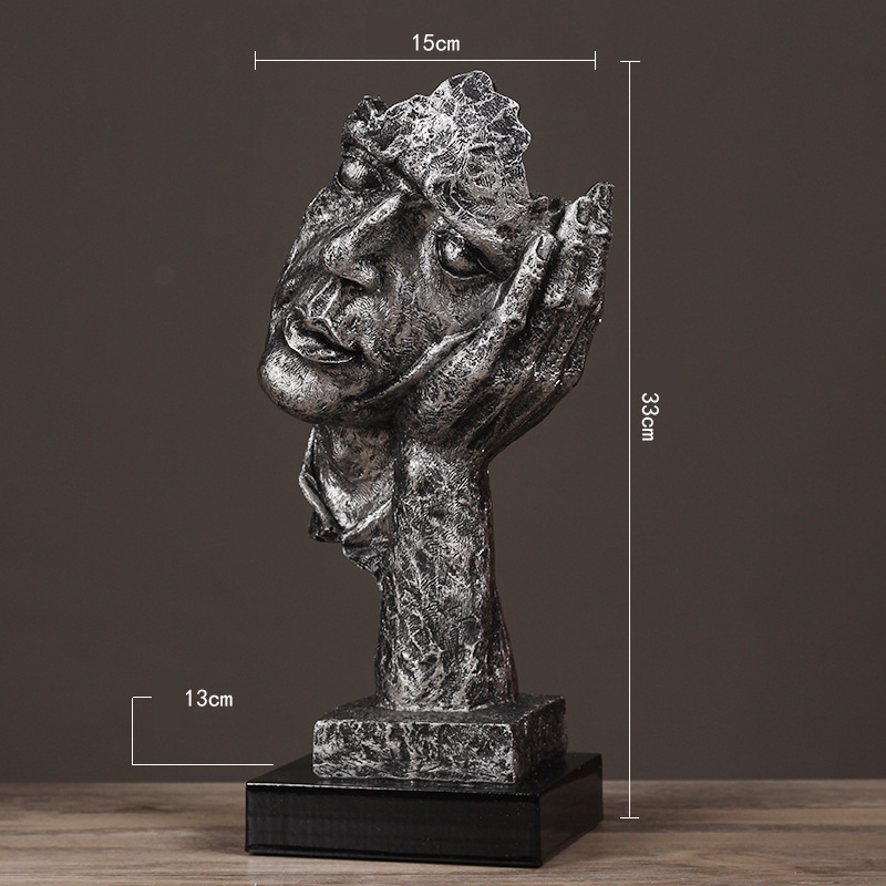 Resin Silence Figurines (19)