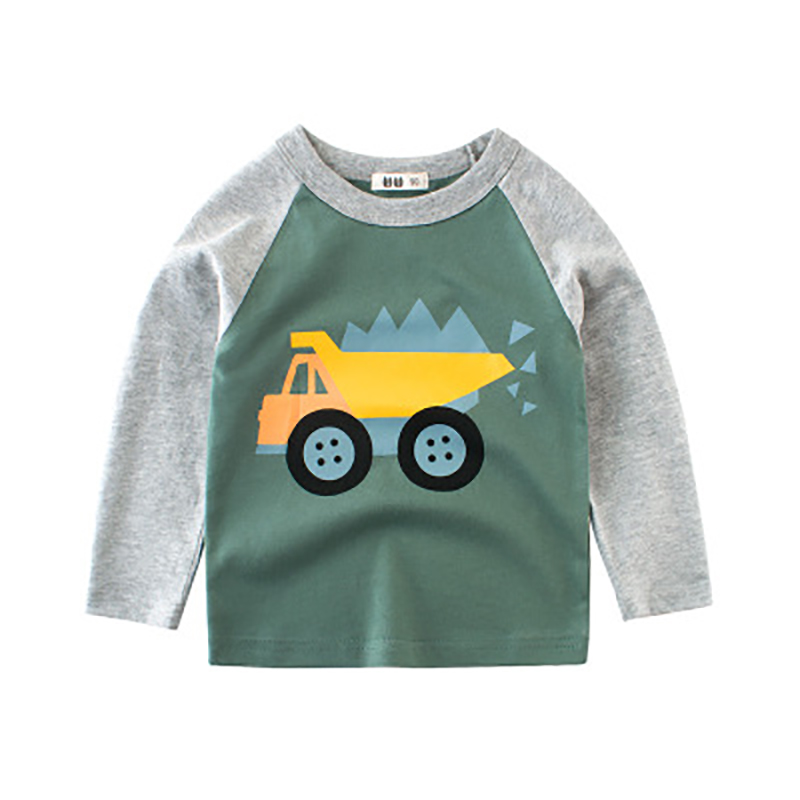 ideacherry Baby Boy Long Sleeve Tee Tops Toddlers Crew Neck Cartoon Car Print T-shirt Children Autumn Winter Pure Cotton Clothesideacherry Baby Boy Long Sleeve Tee Tops Toddlers Crew Neck Cartoon Car Print T-shirt Children Autumn Winter Pure Cotton Clothes