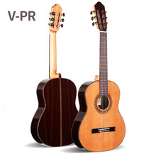 39 inch Handmade Spanish guitar,VENDIMIA SOLID Cedar /Rosewood Acoustic guitarras+STRINGS, classical guitar with Nylon string(China)