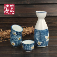 christmas christmas Japanese style ceramic wine set wine pot cup porcelain gift wine bottle