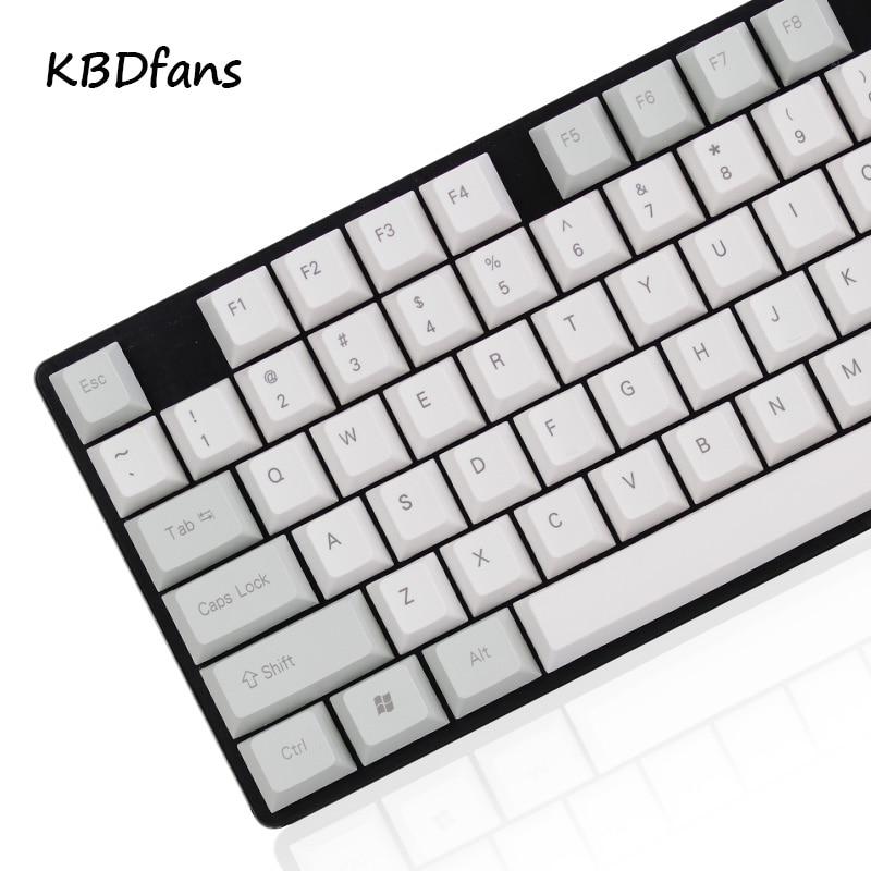 все цены на NPKC Blank side printed Cherry Profile Thick PBT Keycap ANSI ISO layout For Cherry MX Switches Mechanical Gaming Keyboard онлайн