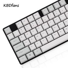 Npkc пустой сбоку печатные Вишня профиль толщиной pbt Keycap ansi iso макет для Cherry MX коммутаторы Механическая игровая клавиатура