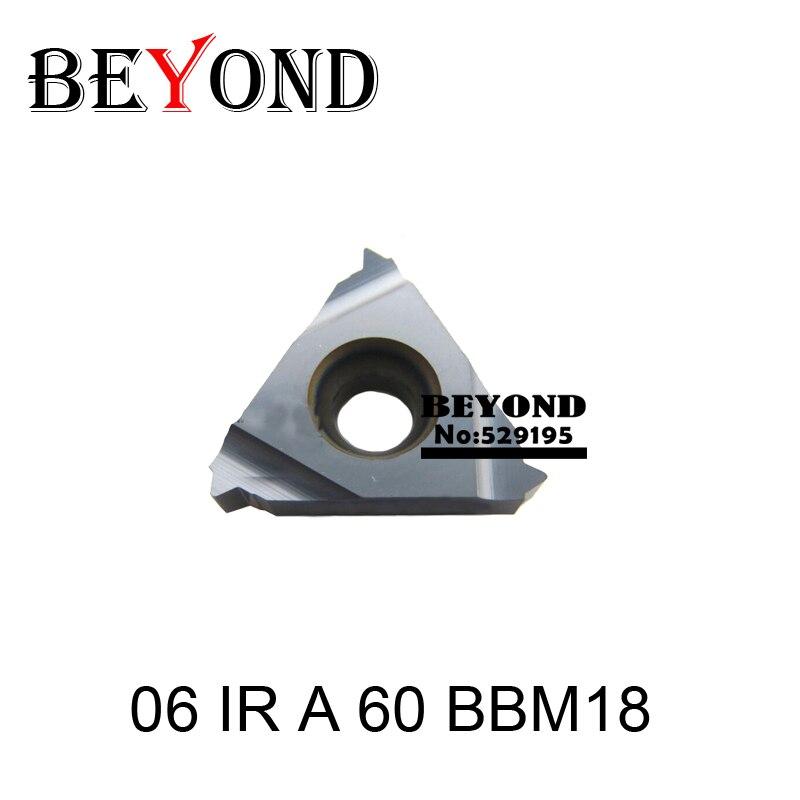 06 IR A 60 BBM18 06 IR A 55 BBM18 Indexable Tungsten Carbide Threading Lathe Inserts