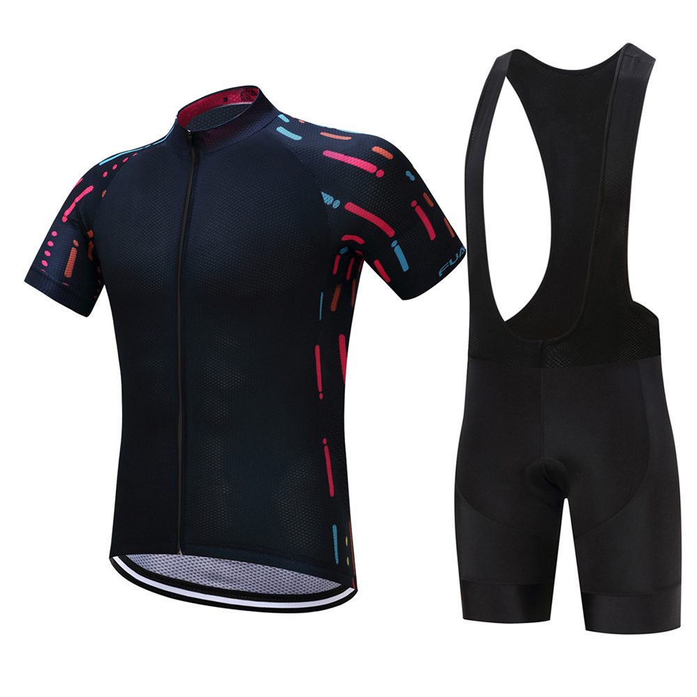 FUALRNY Lucius Breathable Cycling Jersey Set Summer MTB Bicycle Clothing Ropa Ciclista Mountain Bike Clothes Maillot Ciclismo siilenyond farfax summer cycling clothing mountain bike jersey ropa ciclista hombre maillot ciclismo racing bicycle clothes set