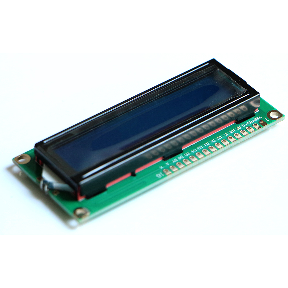 Freeshipping! 1602 Character LCD Display Module Blue Backlight For Ar-du-ino
