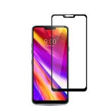 3D Gehärtetem Glas Für LG G7 ThinQ Full Cover 9 H schutzfolie explosionsgeschützte Displayschutzfolie Für G710EM LMG710EM