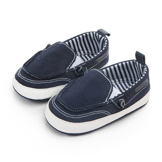 dc5db5f80 Bebé niños niñas zapatos de lona zapatos de bebé recién nacidos primeros  caminantes para 0-