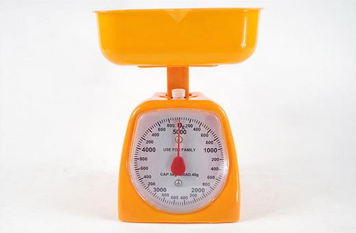 2019 New Kitchen Weight Measurement Tools 1-10kg Weighing Scales Stainless Steel Bench Scale Mechanical Spring Balance Tray