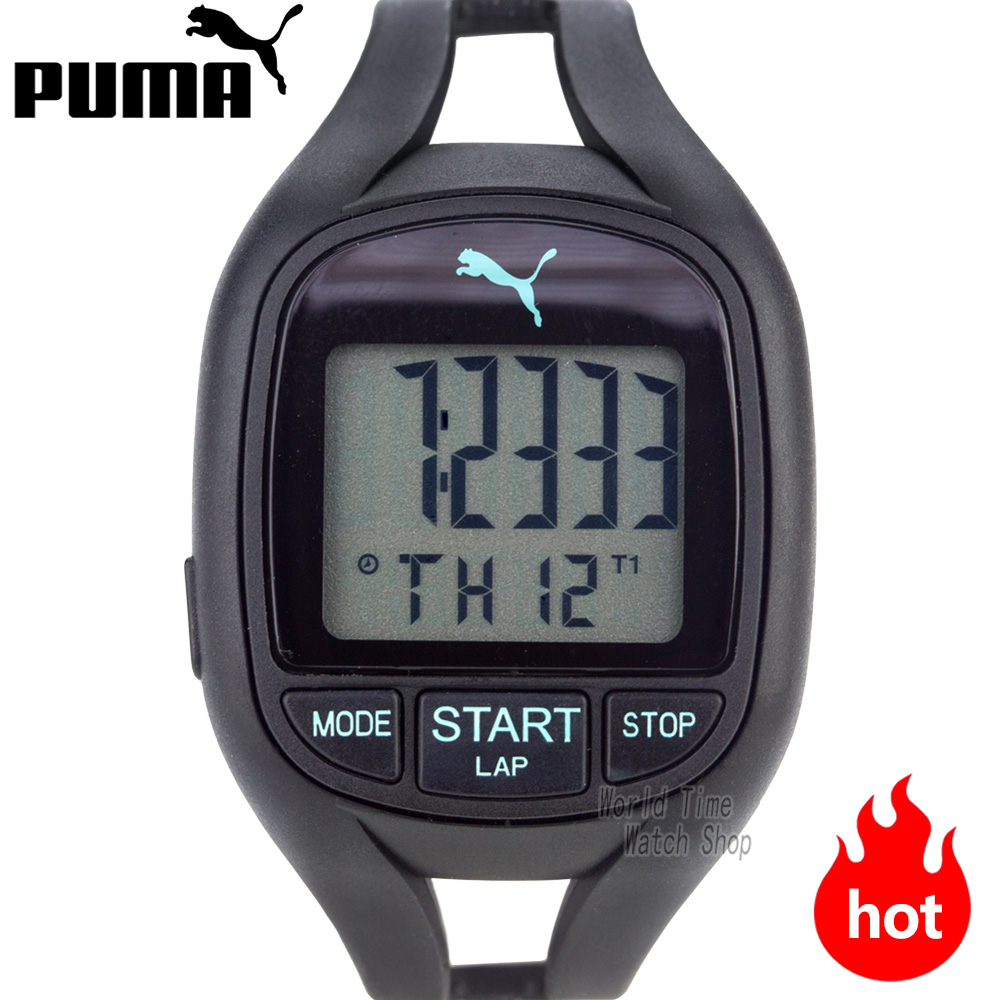 PUMA montre hommes moderne mode sport montre femmes rotatif série multifonctionnel horloge étanche montre bracelet Relogio Masculino-in Montres sport from Montres    1