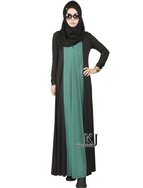 Vestido de los musulmanes Ropa Islámica Para Las Mujeres Abaya en Dubai Jilbab Chilaba Túnica Musulmana de Turco Ropa Remiendo de Las Mujeres Vestidos