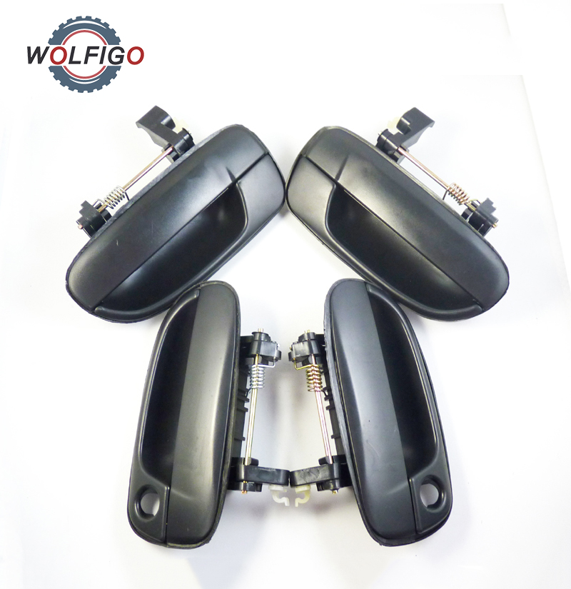 2000 Hyundai Accent Exterior: WOLFIGO New Outside DOOR HANDLE Front Rear Left Right For