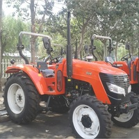 Large Agricultural Transport Machinery Farm Working Machine Large Four Wheel Tractor