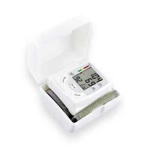 Image 5 - Oliecoデジタル正確な手首血圧モニターポータブル電気液晶パルスレートメーター血圧計ビートpr