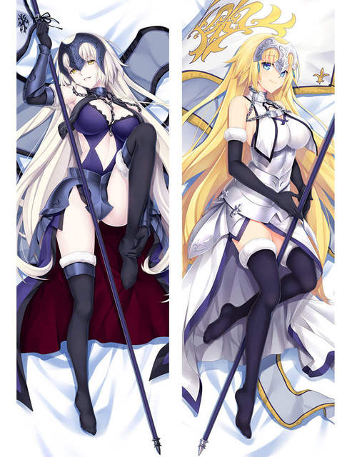 fate/grand order FGO anime Characters caster (fate/extra) & scathach & jeanne pillow cover Astolpho & kiyohime body Pillowcase