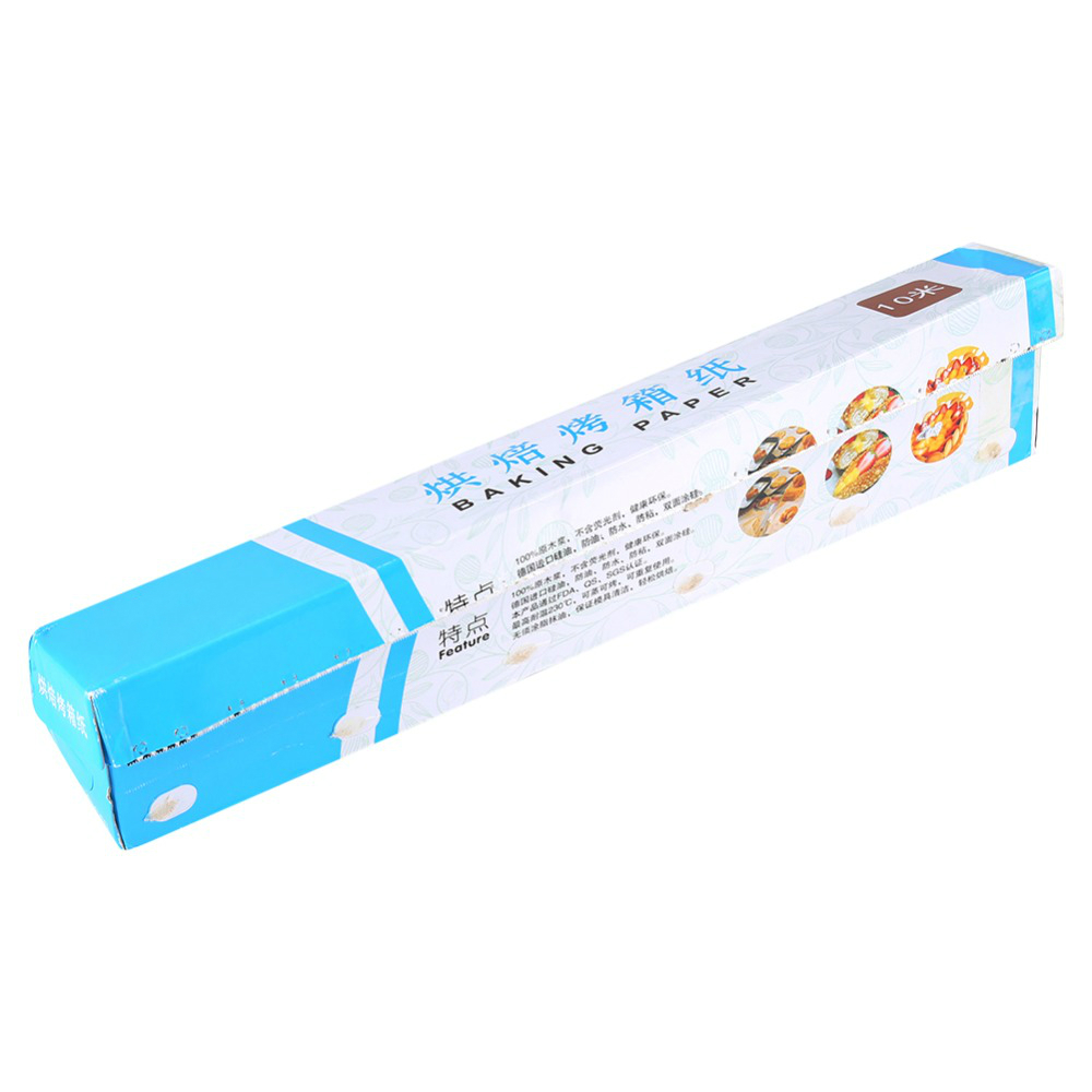 Silicone coated baking paper