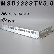 Металлический корпус Железный дефлектор MSD338S ТВ 5,0 интеллектуальная беспроводная сеть ТВ драйвер платы Универсальный Эндрюс ЖК материнская плата Android