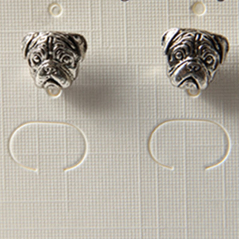 Special Offer Promotion None Earings Bijoux Products Oxide Pug Earrings pug Jewelry For Women