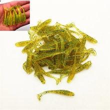 0.7g 5cm Wobbler Jigging Fishing Lure Soft Worm Shrimp Jerkbait Fish Ocean Rock wholesale 10 pcs / bag