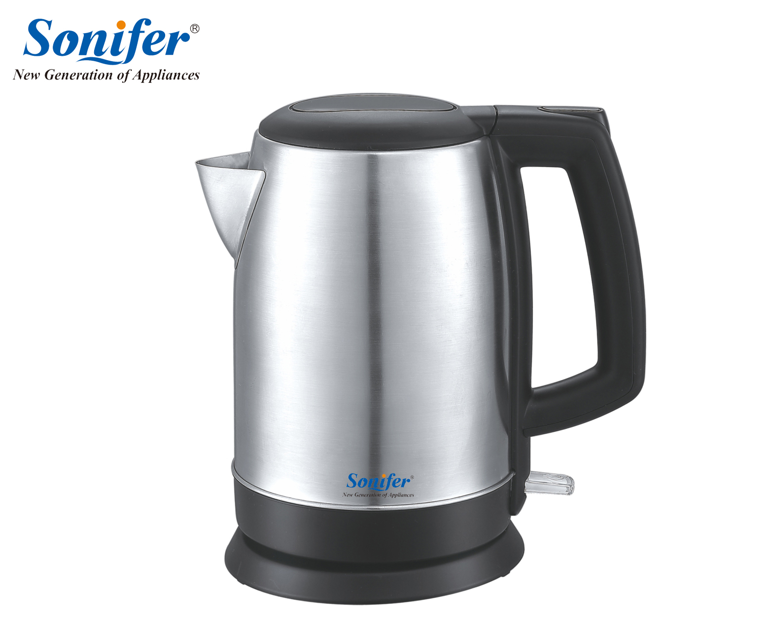 1.7L 304 stainless steel Electric Kettle 220V 1500W Household Quick Heating Electric Boiling Pot Sonifer cukyi household electric multi function cooker 220v stainless steel colorful stew cook steam machine 5 in 1