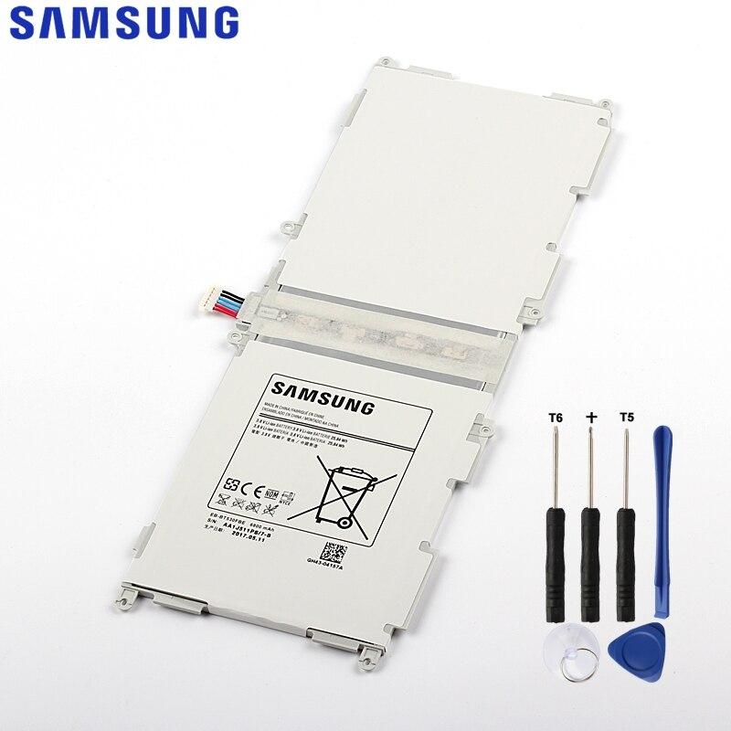 Original Samsung Tablet Batterie Für Galaxy Tab4 Tab 4 SM-T530 T533 T535 T531 T535 T537 Echtem EB-BT530FBU EB-BT530FBC 6800 mah