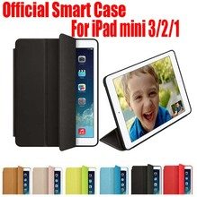 10PC/Lot EMS Free Newest Official Design Best Quality 7.9 inch Smart Case For Apple iPad mini 3 2 1 NO: IM01(China)