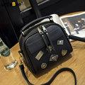 Women Doctor Messenger Bag 2016 Famous Brand Densigner Small Vintage Handbag Badge Retro PU Leather Fashion Ladies Shoulder Bag