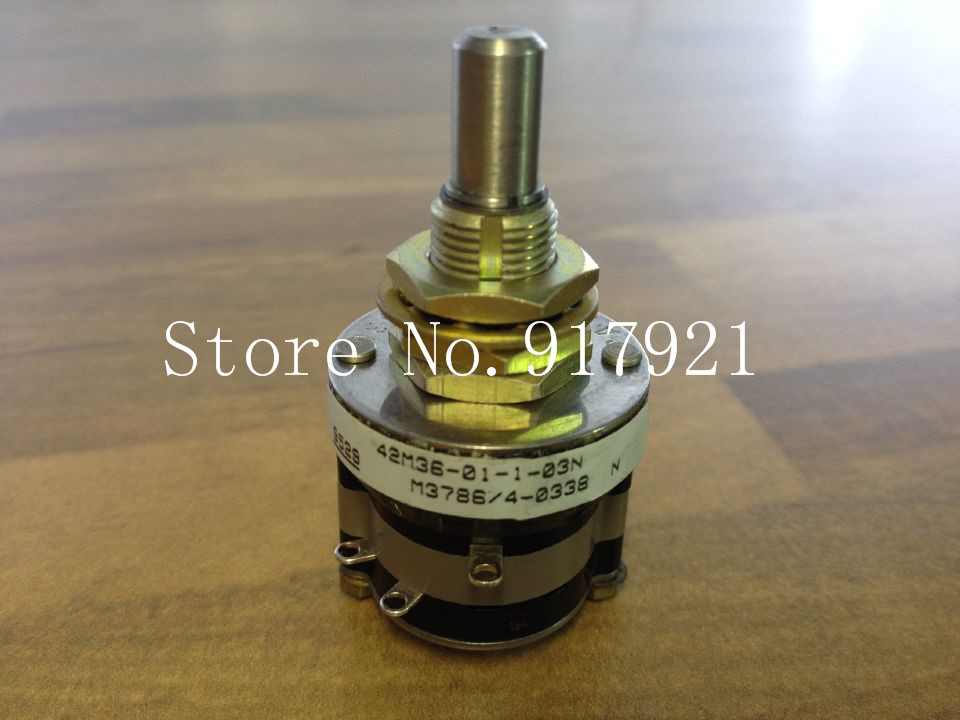 [ZOB] The United States GRAYHILL 42M36-01-103N rotary dial switch M378614-0338 encoding --2PCS/LOT mantra 5925