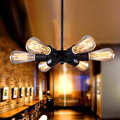 Nordic American Country Style Retro Chandelier European Industry Restaurant Bar Hotel Club Six Ferris Wheel Lamp