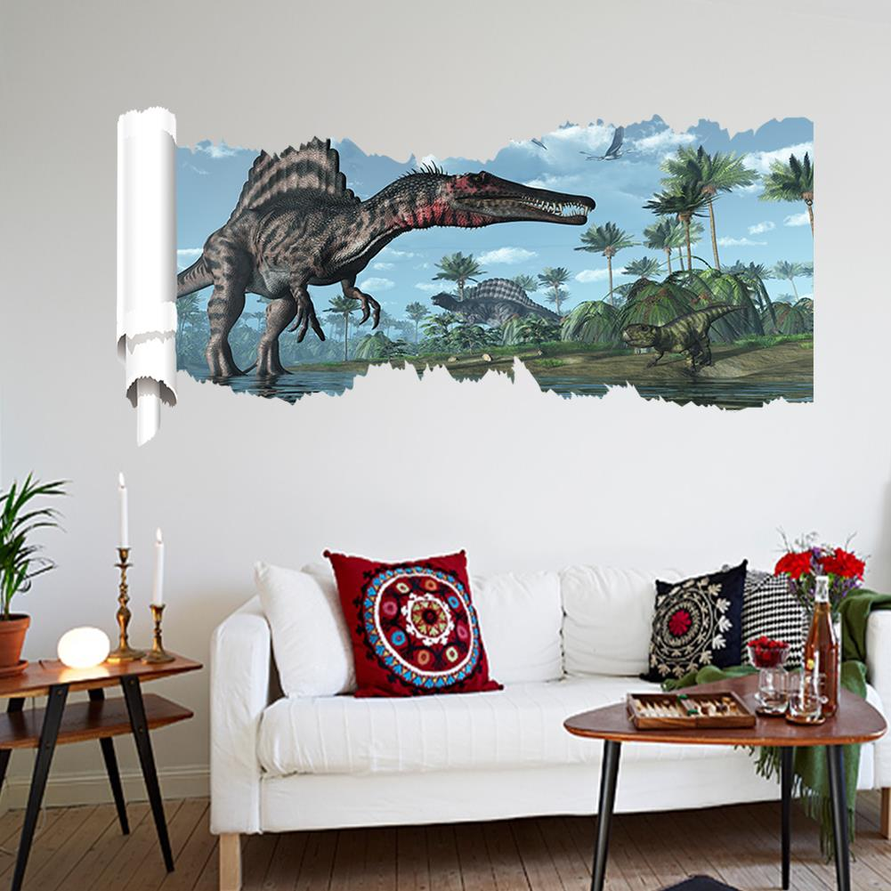 Wall Sticker Home Decor Picture More Detailed Picture About D - 3d dinosaur wall decalsd dinosaur wall stickers for kids bedrooms jurassic world wall