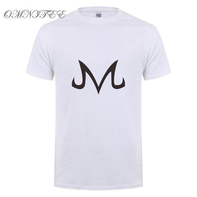 Omnitee  New Dragon Ball Z T Shirts Babidi Logo T Shirt Men New Fashion Cotton Short Sleeve Majin Buu Shirt Tee Tops OT-302