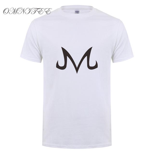Majin Symbol T-Shirt Vegeta Buu Final Flash