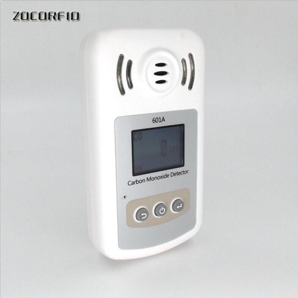 Dry batttery Smart CO Gas Detector Hand held portable sensor LCD Digital Carbon Monoxide Meter CO Gas Tester Detector Meter