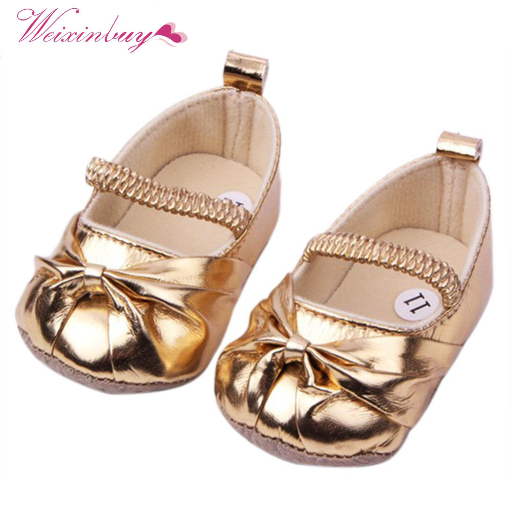18 Styles Baby Girl Shoes Toldder First Walkers Infant Flower Shallow Soft Sole Prewalker