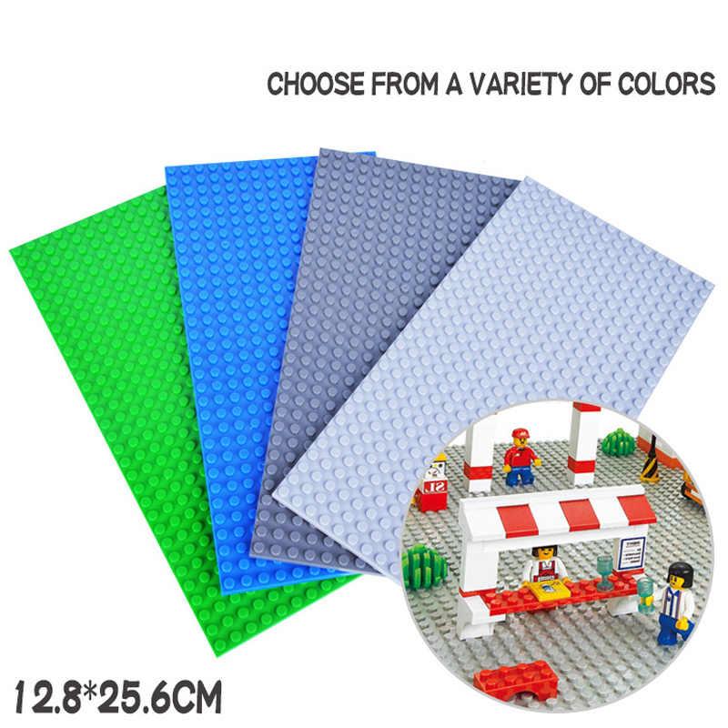 16*16 16*32 пластины основания для небольших кирпичей плинтус доска DIY строительные блоки совместимы с Legoing игрушки детей